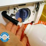 تخلیه نشدن آب در ماشین لباسشویی ال جی
