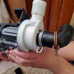 علت آبریزی یا نشت آب از ماشین لباسشویی ال جی