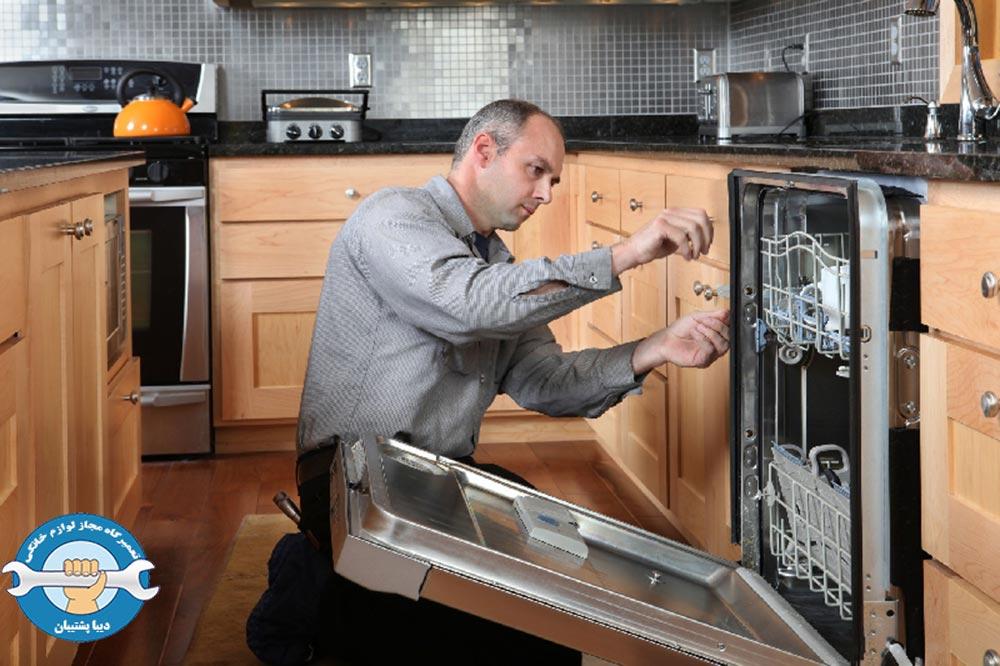 علت ارور he در ماشین ظرفشویی ال جی