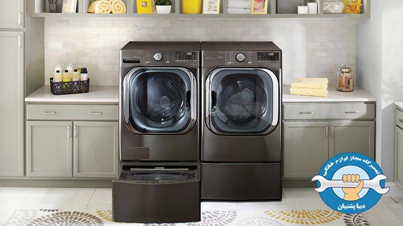 علل بروز لرزش و صدای زیاد در ماشین لباسشویی ال جی