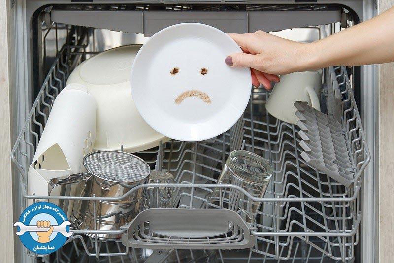 علل اصلی تخلیه نشدن آب ماشین ظرفشویی ال جی